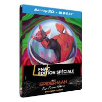 Spider-Man : Far From Home Steelbook Edition Spéciale Fnac Blu-ray 3D