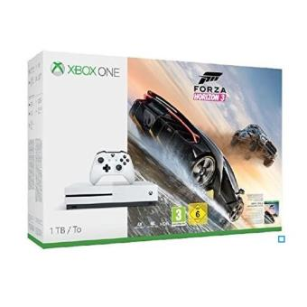 Pack Console Microsoft Xbox One S 1 To + Forza Horizon 3