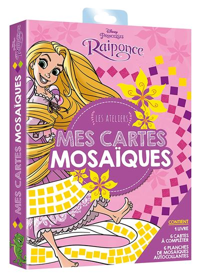 Raiponce - Tableaux mosaïque : Pochette Mosaïques