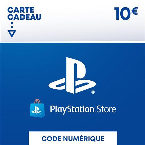 Code de téléchargement Playstation Store Fonds pour Porte-Monnaie virtuel 10