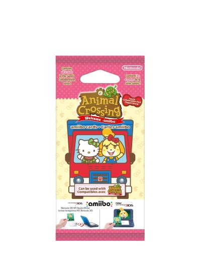 Paquet de 6 cartes Animal Crossing New Leaf Welcome Amiibo