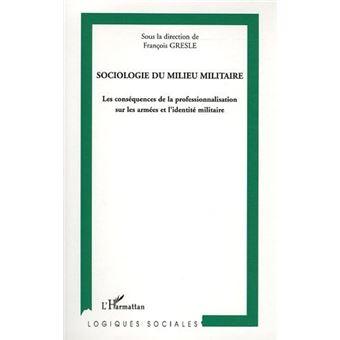 Sociologie du milieu militaire