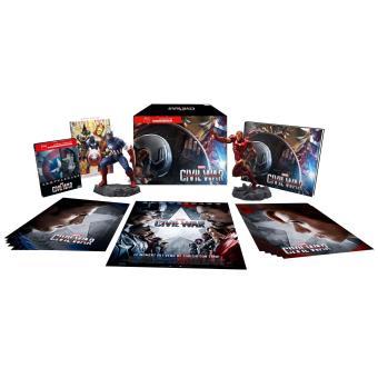 Captain AmericaCaptain America : Civil War Coffret Steelbook Edition spéciale Fnac Blu-ray