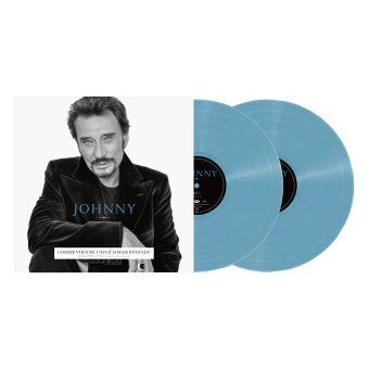 Johnny Edition Limitée Vinyle bleu