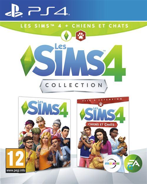 Les Sims 4 + Les Sims 4 Chiens et chats Collection PS4