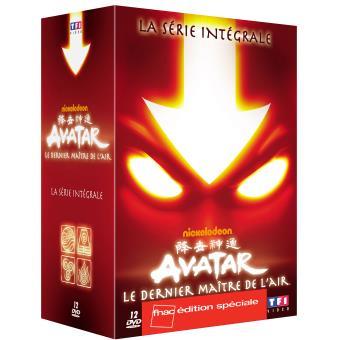 AvatarLe dernier Maître de l'air - L'intégrale 12 DVD - Edition Limitée Fnac