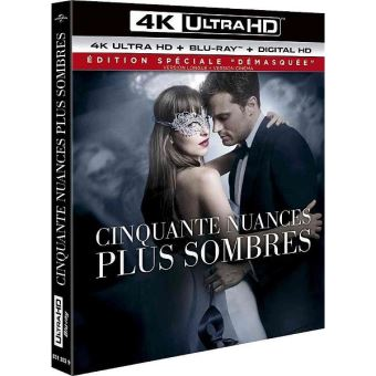 Fifty ShadesCinquante nuances plus sombres Blu-ray 4K Ultra HD