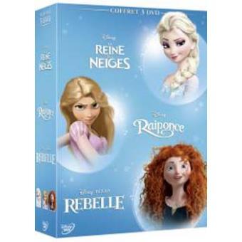 Coffret Les héroïnes Disney DVD