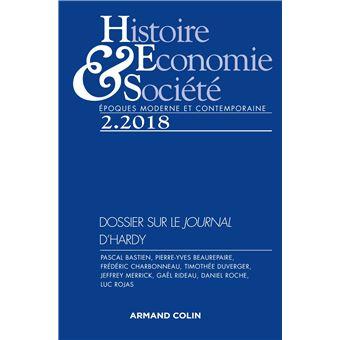 Histoire, Économie et Société , Autour du Journal (1753-1789) de Siméon-Prosper Hardy