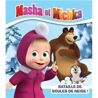 Masha et MichkaMasha et michka bataille de boules de neige