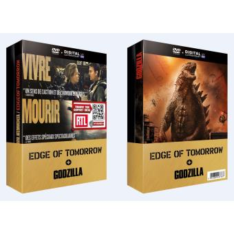 Godzilla, la trilogieCoffret Edge of Tomorrow, Godzilla DVD + Copie digitale