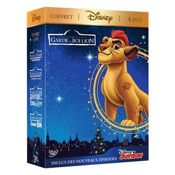 La Garde du Roi LionCoffret La Garde du Roi Lion 1 à 4 DVD