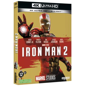 Iron manIron Man 2 Blu-ray 4K Ultra HD