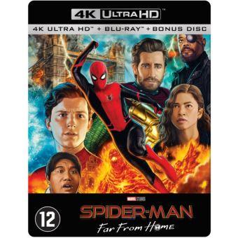 SPIDER-MAN : FAR FROM HOME-BIL-BLURAY 4K STEELBOOK