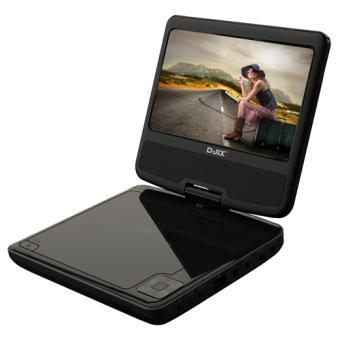 lecteur dvd portable d jix pvs 705 73h lecteur dvd portable achat prix fnac. Black Bedroom Furniture Sets. Home Design Ideas