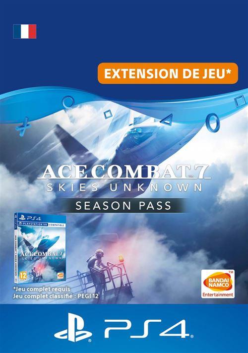 Code de téléchargement Ace Combat 7 Skies Unknown Season Pass PS4