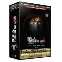 Metallica Through the Never Coffret Collector Limité Combo Blu-Ray 3D + 2 DVD