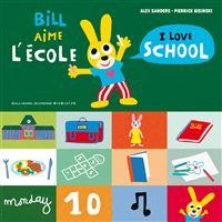 Bill aime l'école / I love school
