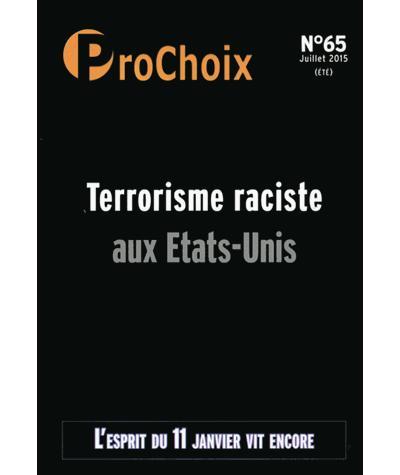 Terrorisme raciste aux Etats-Unis