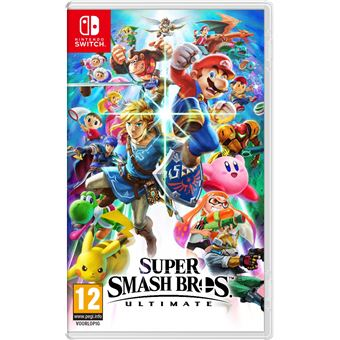 Super Smash Bros Ultimate Nintendo Switch NL