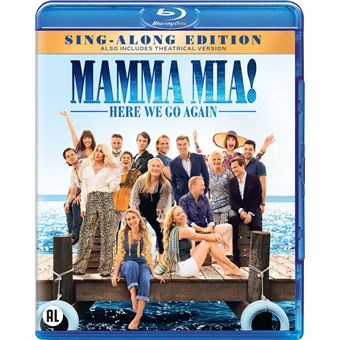 Mamma mia 2: here we go again!-BIL-BLURAY