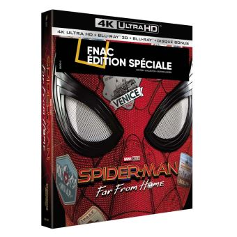 Spider-ManSpider-Man : Far From Home Coffret Edition Spéciale Fnac Steelbook Blu-ray 4K Ultra HD