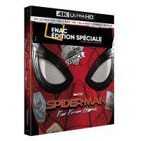Spider-Man : Far From Home Coffret Edition Spéciale Fnac Steelbook Blu-ray 4K Ultra HD