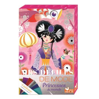 Princesses du monde - Pochette avec feuilles métallisées