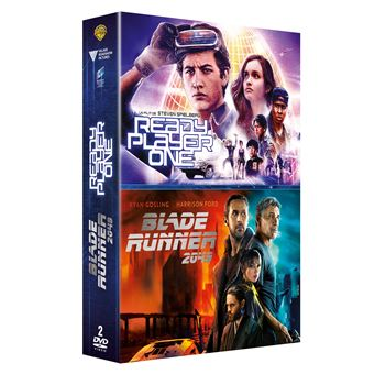 Coffret Ready Player One Blade Runner 2049 DVD