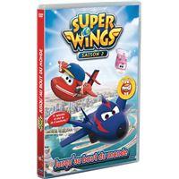 Super Wings Jusqu'au bout du monde Saison 2 Volume 4 DVD