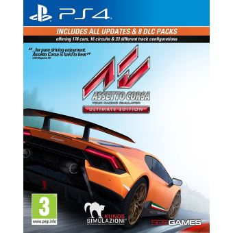 Assetto corsa ultimate edition UK PS4