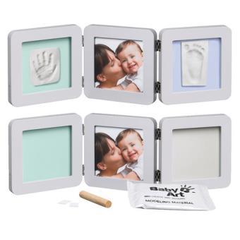 Baby Art Kit de Moulage et dEmpreintes Modern Print Frame Pastel