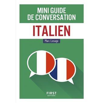 Mini guide de conversation italien
