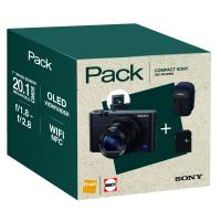Fnac Pack Compact Sony DSC-RX100MIII Zwart + Hoes + SD-Kaart 8GB