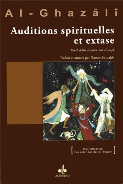 Le livre des auditions spirituelles et de l'extase - 9791022500876 - 6,40 €