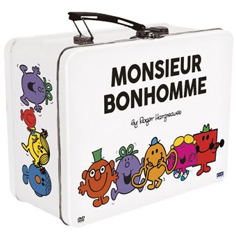Monsieur MadameCoffret Monsieur Bonhomme Valisette métal DVD