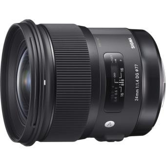"""Objectif reflex SIGMA 24/1.4 DG HSM """"A"""" pour Nikon"""