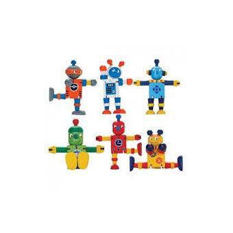 Robot bois articule