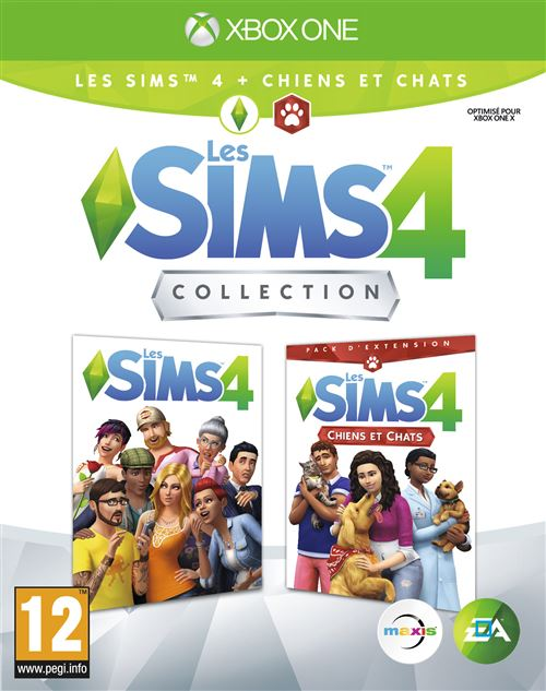 Les Sims 4 + Les Sims 4 Chiens et chats Collection Xbox One