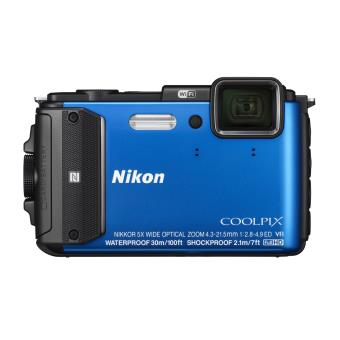 Appareil photo compact Nikon Coolpix AW130 Bleu