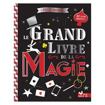 Le grand livre de la magie - cartonné - Gilles Arthur