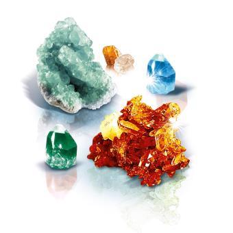 Jeu Scientifique Crée des cristaux Clementoni