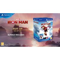 MARVEL'S IRON MAN VR +PS MOVE X2