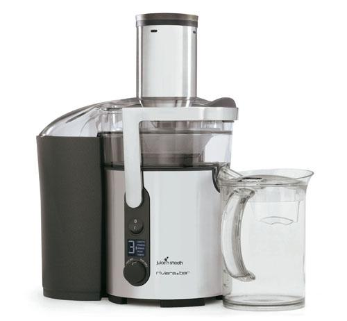 Centrifugeuse Digitale Juice'n Smooth Riviera et Bar PR785A 1300 W Argent