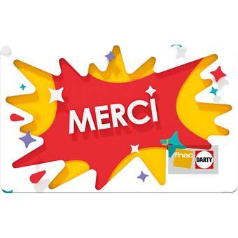 Carte Cadeau Fnac Utilisable Dans Plusieurs Magasins.E Carte Cadeau Fnac Darty Merci