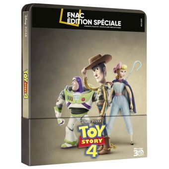 Toy StoryToy Story 4 Steelbook Edition Spéciale Fnac Blu-ray 3D