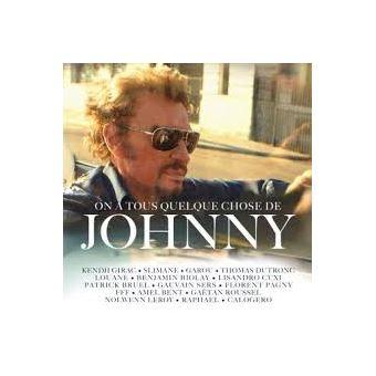 On a tous quelque chose de Johnny Digipack Inclus un livret de 20 pages