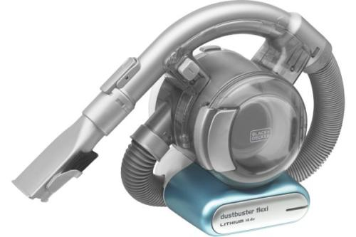 Aspirateur à main Black+Decker Dustbuster Flexi Gris et Bleu