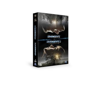 DivergentCoffret Divergente 2 films DVD
