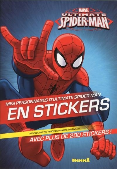Ultimate Spider-Man -  : Mes personnages d'Ultimate Spider-Man en stickers